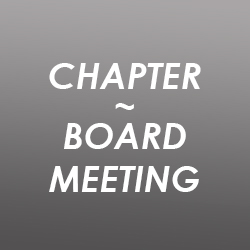 Hamilton & District Chapter - Board of Director's Meeting