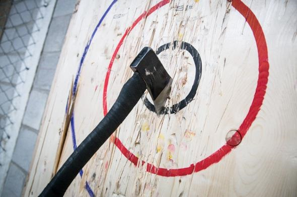 Axe Throwing at BATL London