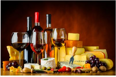 On-Line Wine & Cheese