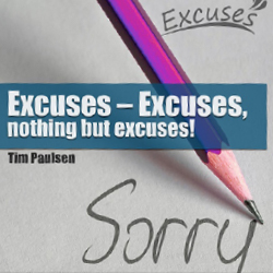 Saskatchewan Chapter Seminar: Excuses - nothing but excuses