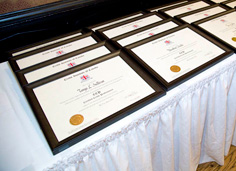 CIC graduation certificates